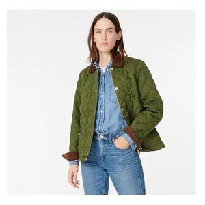 🆕J.Crew Coat – Quilted Barn Jacket
